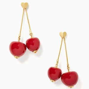 Kate Spade tutti fruity cherry linear earring